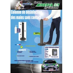 COLONNE DE DESINFECTION DES MAINS SANS CONTACT